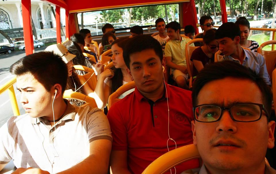 Во время экскурсии учащиеся